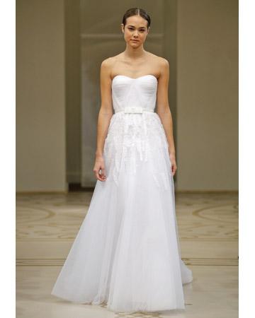 Reem Acra Wedding Dresses   Discount Bridal Gowns